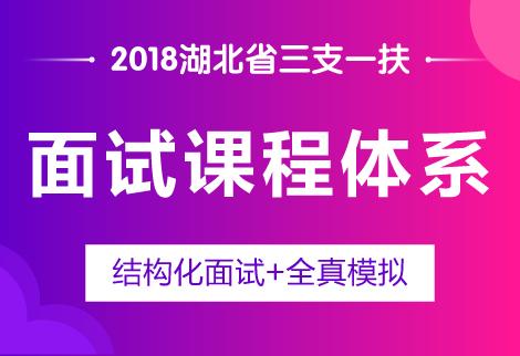 2018湖北省三支一扶考试面试课程